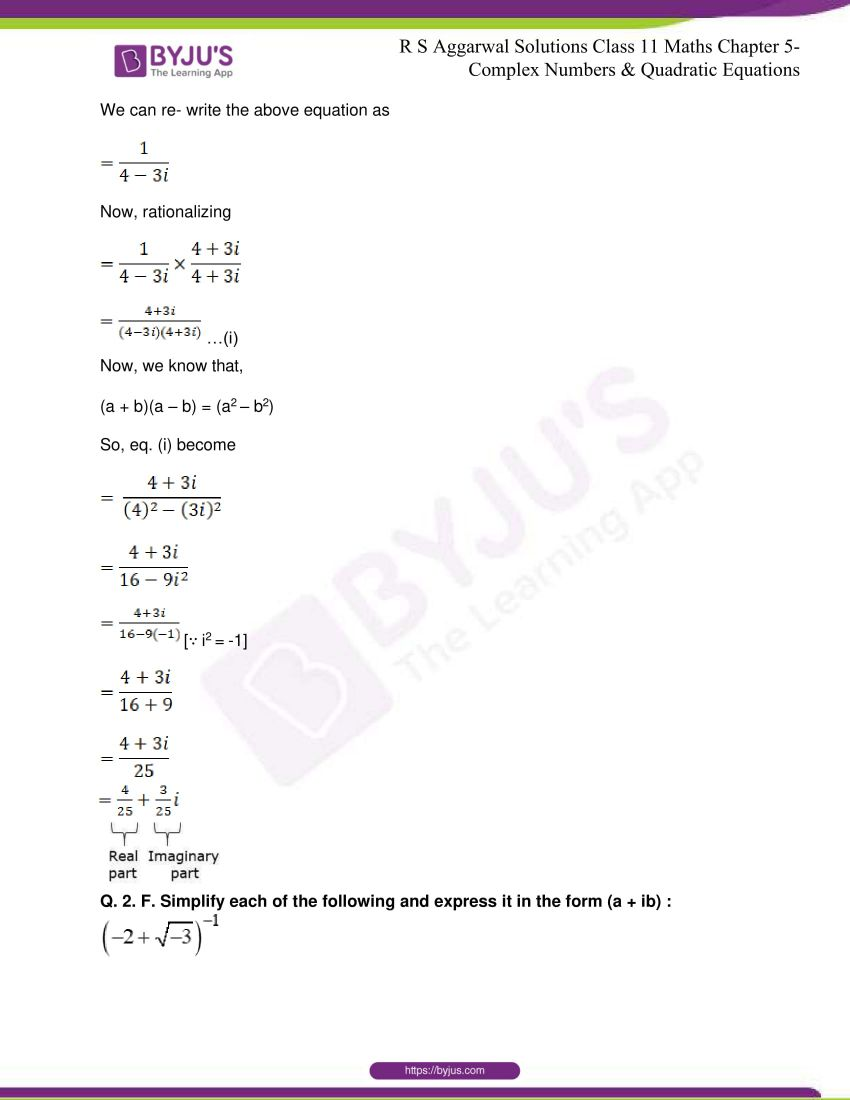 rs aggarwal class 11 maths solutions chapter 5 021