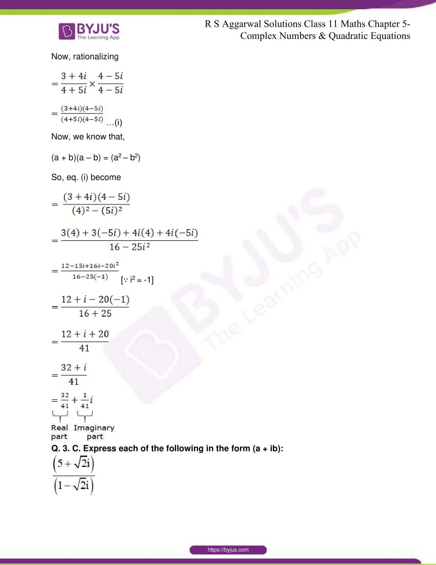rs aggarwal class 11 maths solutions chapter 5 028