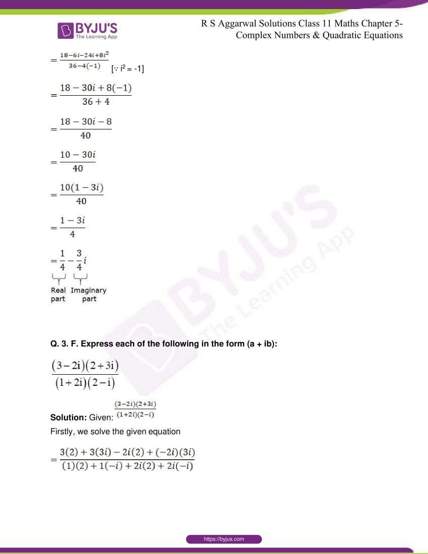rs aggarwal class 11 maths solutions chapter 5 032