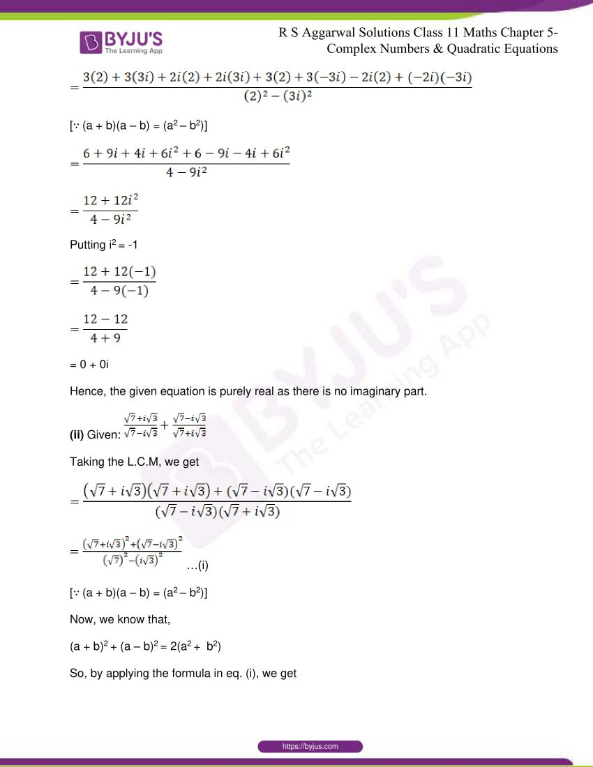 rs aggarwal class 11 maths solutions chapter 5 042