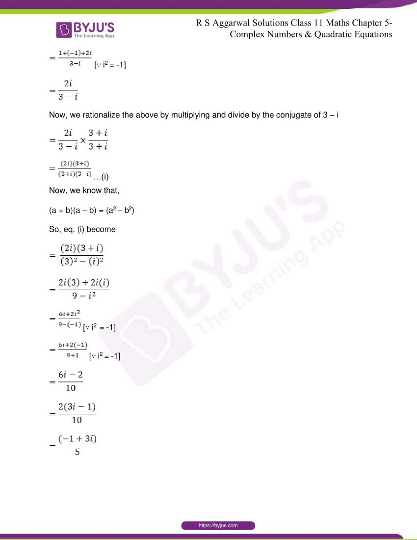 rs aggarwal class 11 maths solutions chapter 5 048