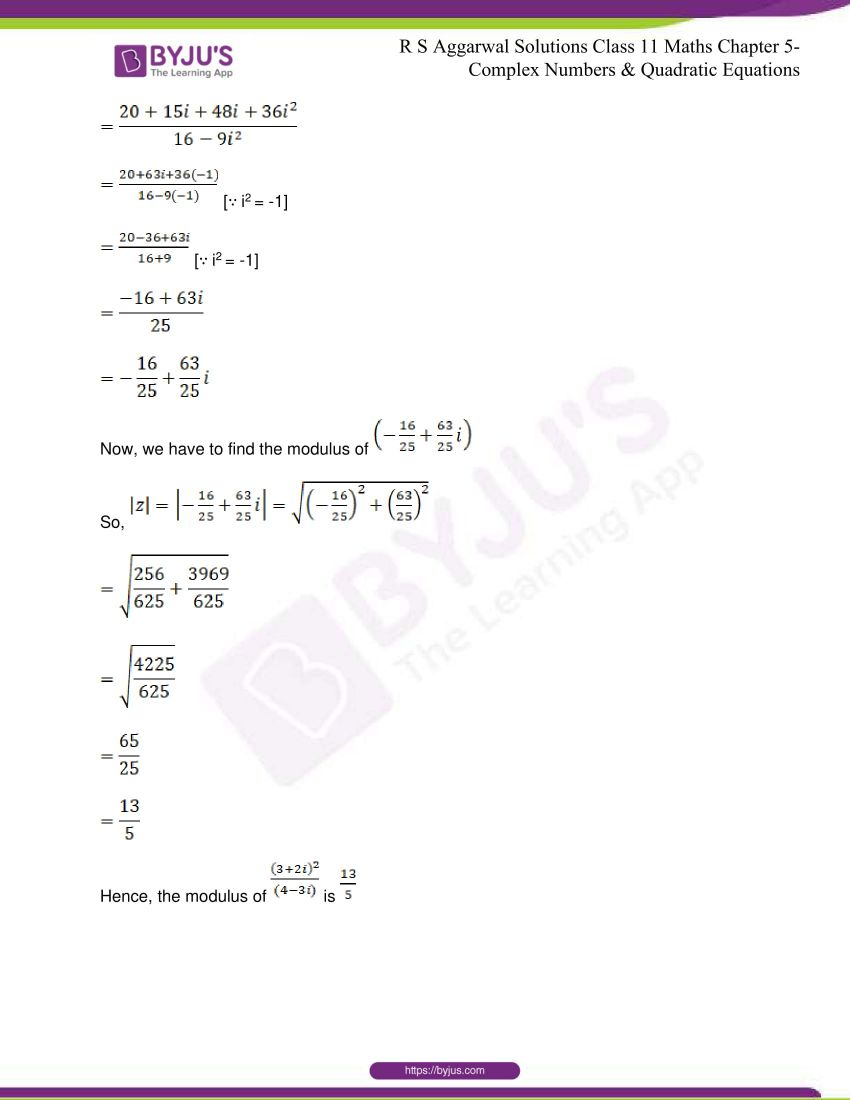 rs aggarwal class 11 maths solutions chapter 5 055