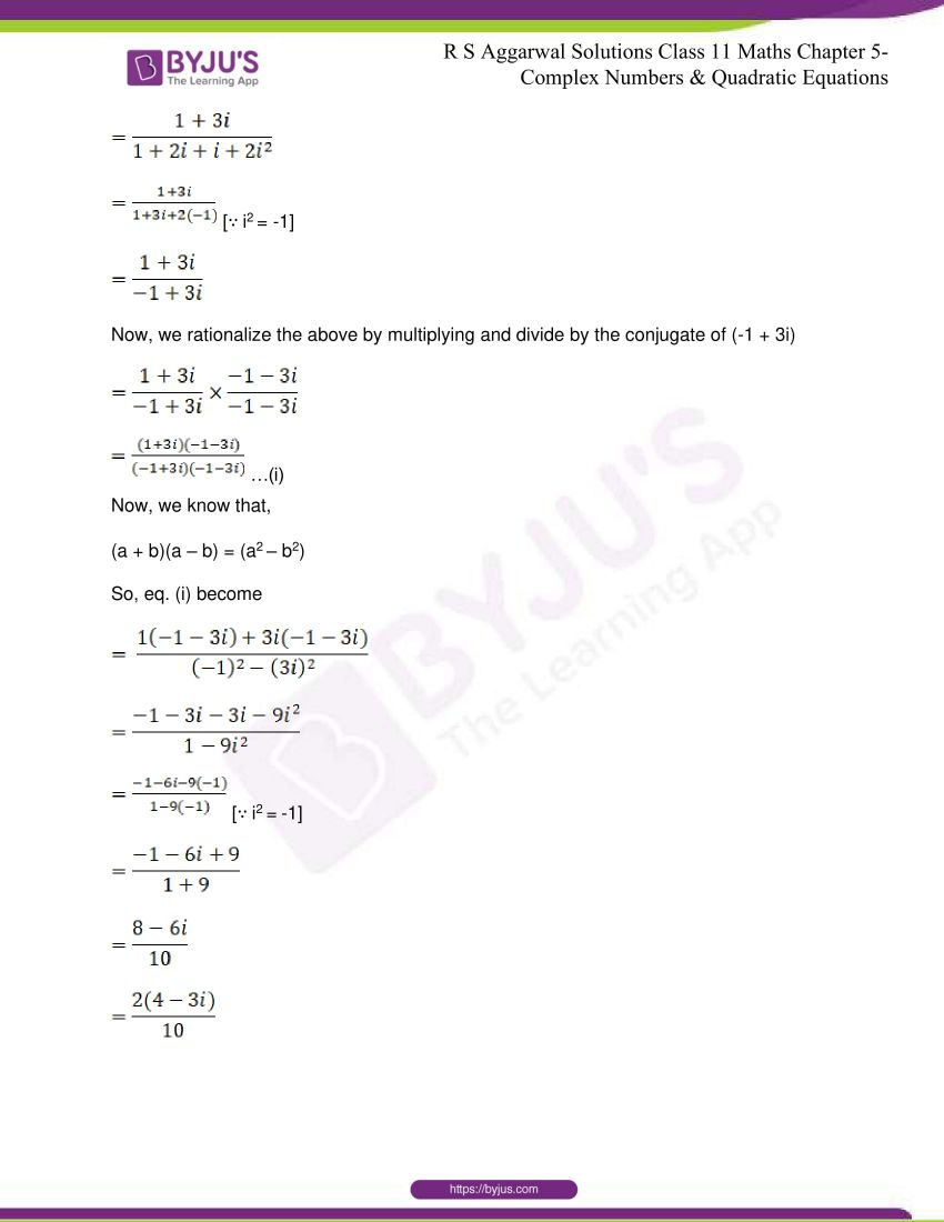 rs aggarwal class 11 maths solutions chapter 5 063