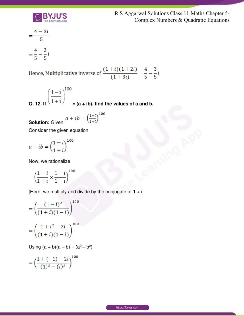 rs aggarwal class 11 maths solutions chapter 5 064