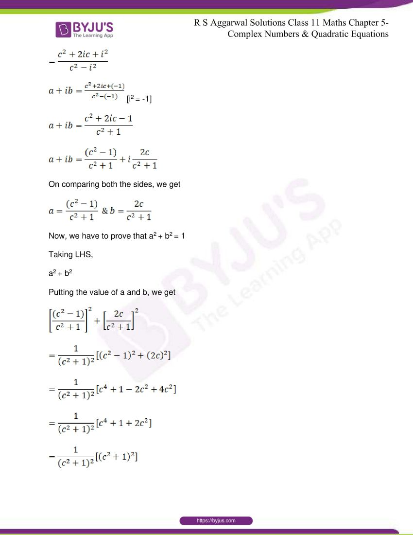 rs aggarwal class 11 maths solutions chapter 5 069