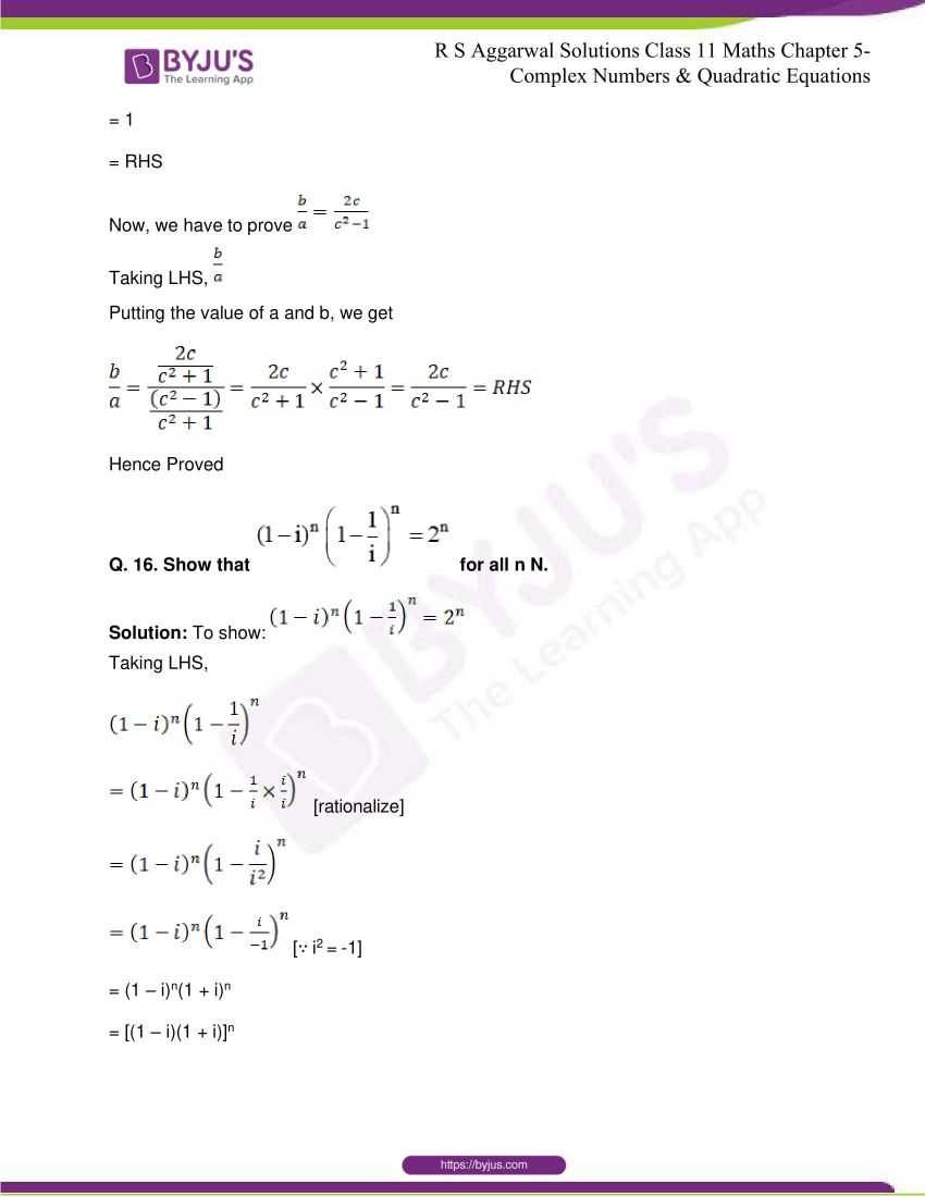 rs aggarwal class 11 maths solutions chapter 5 070