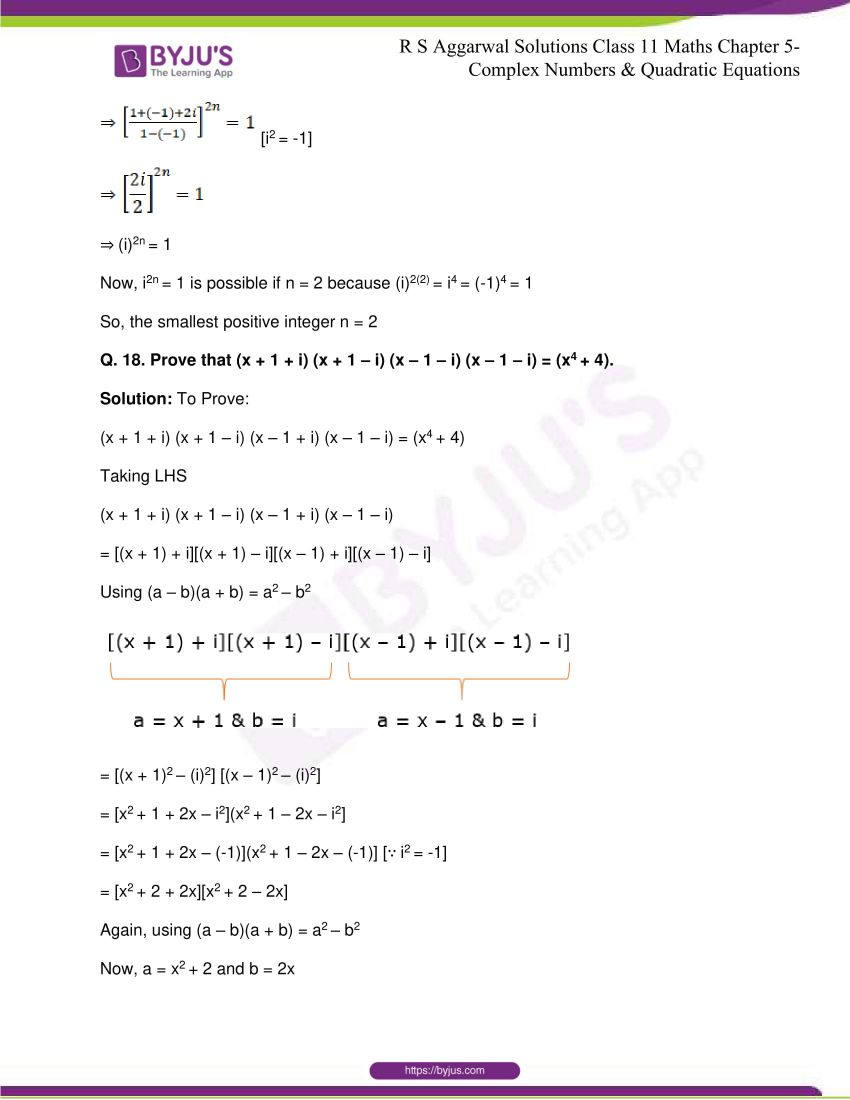 rs aggarwal class 11 maths solutions chapter 5 072
