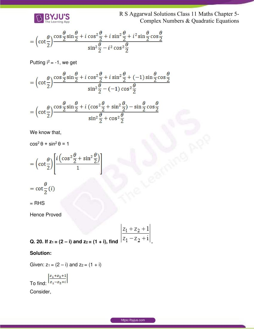 rs aggarwal class 11 maths solutions chapter 5 075