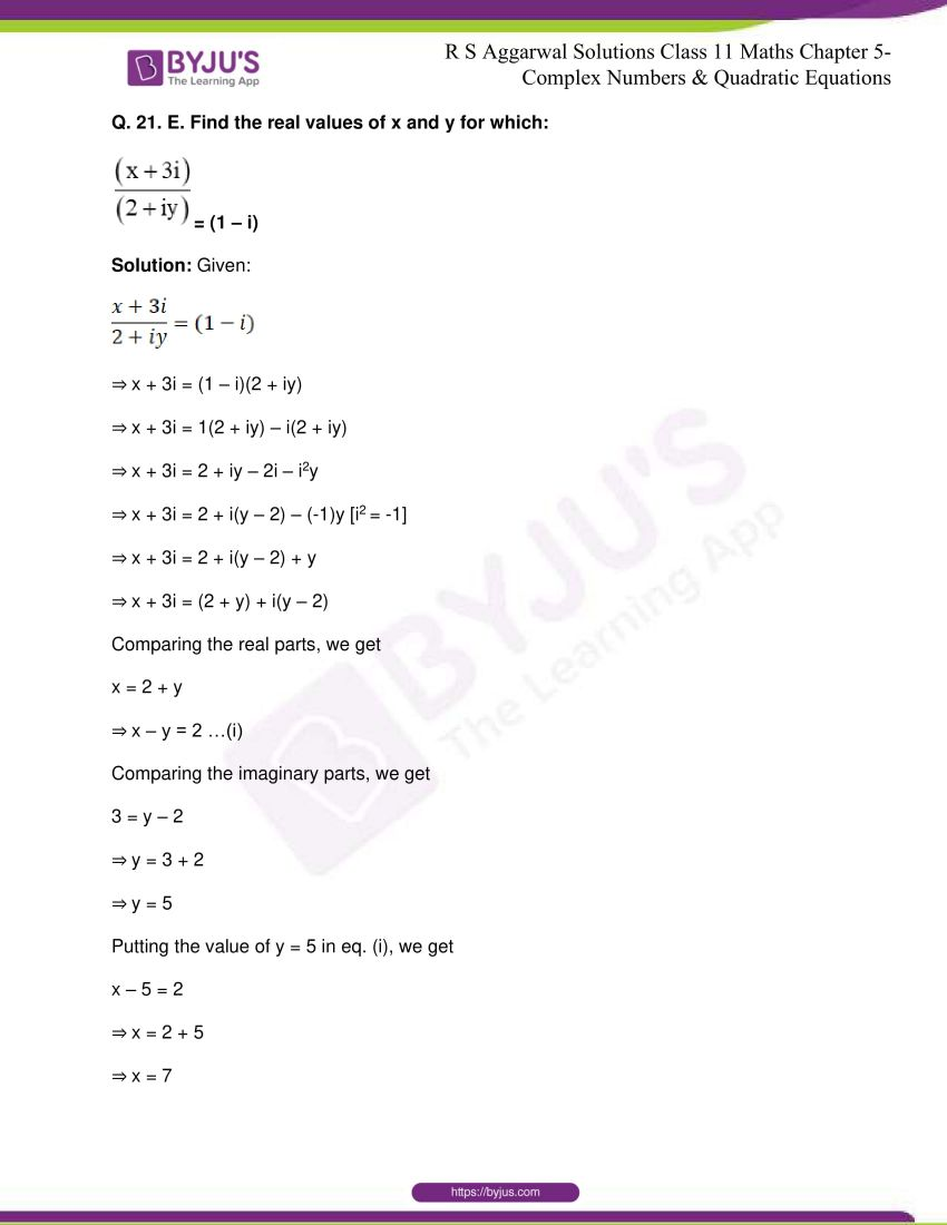 rs aggarwal class 11 maths solutions chapter 5 083