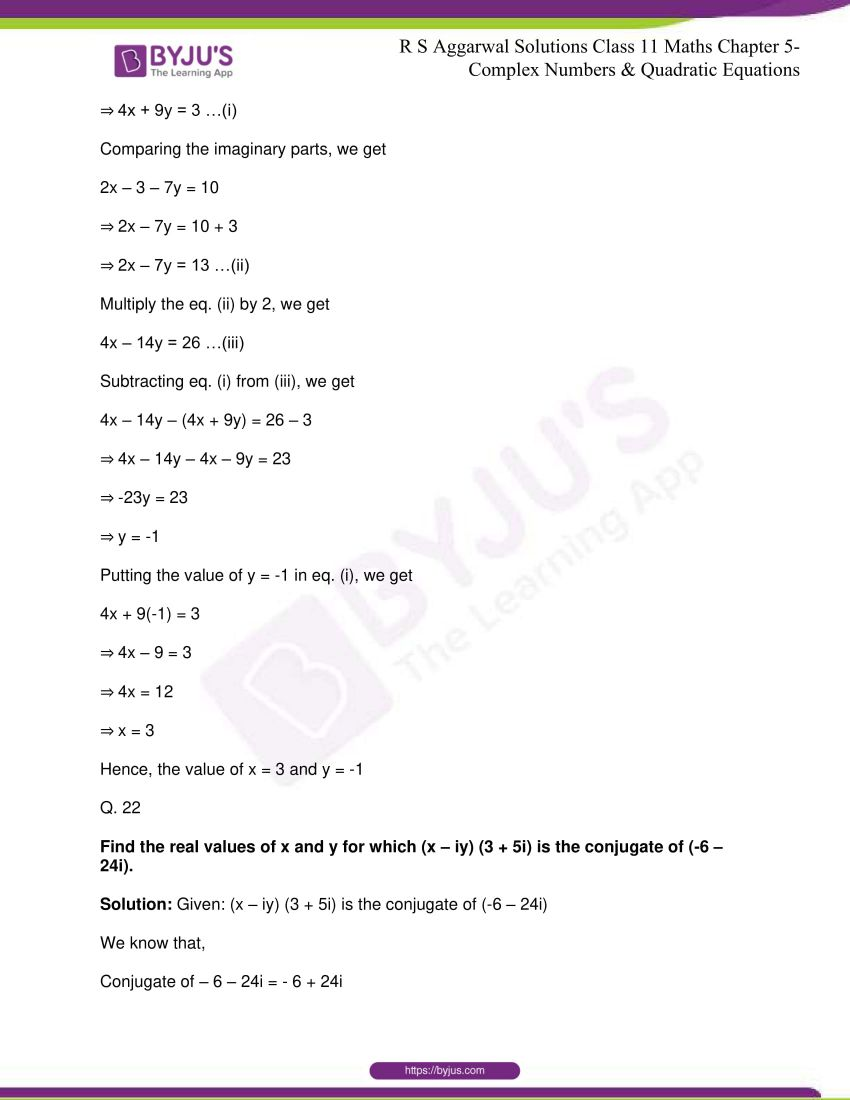 rs aggarwal class 11 maths solutions chapter 5 085