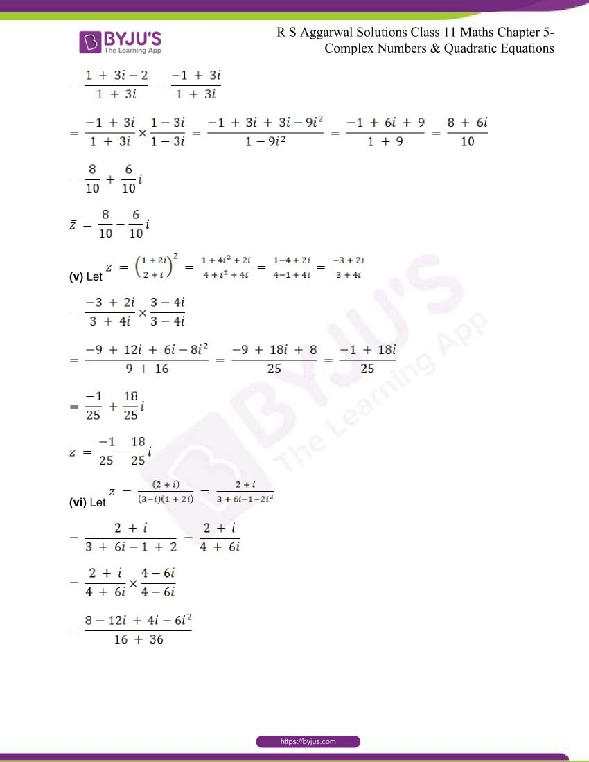 rs aggarwal class 11 maths solutions chapter 5 097