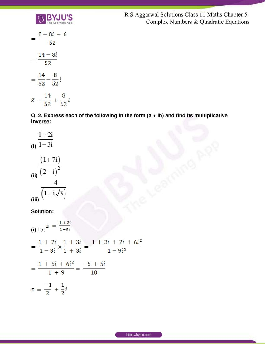 rs aggarwal class 11 maths solutions chapter 5 098