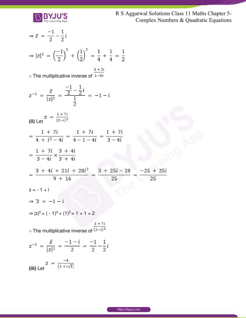 rs aggarwal class 11 maths solutions chapter 5 099