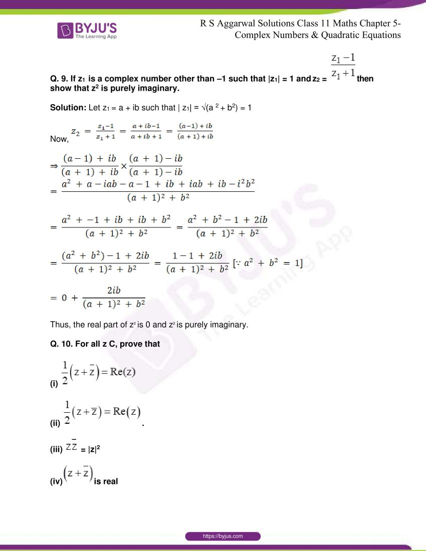 rs aggarwal class 11 maths solutions chapter 5 105