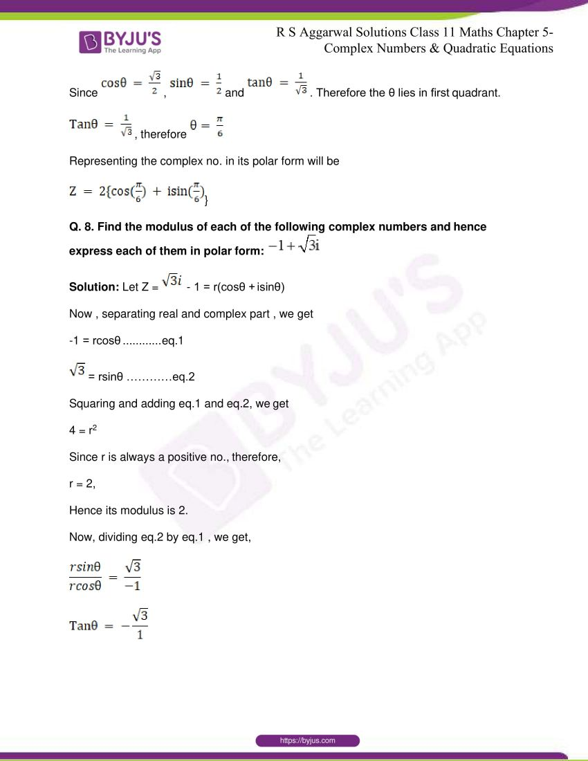 rs aggarwal class 11 maths solutions chapter 5 115