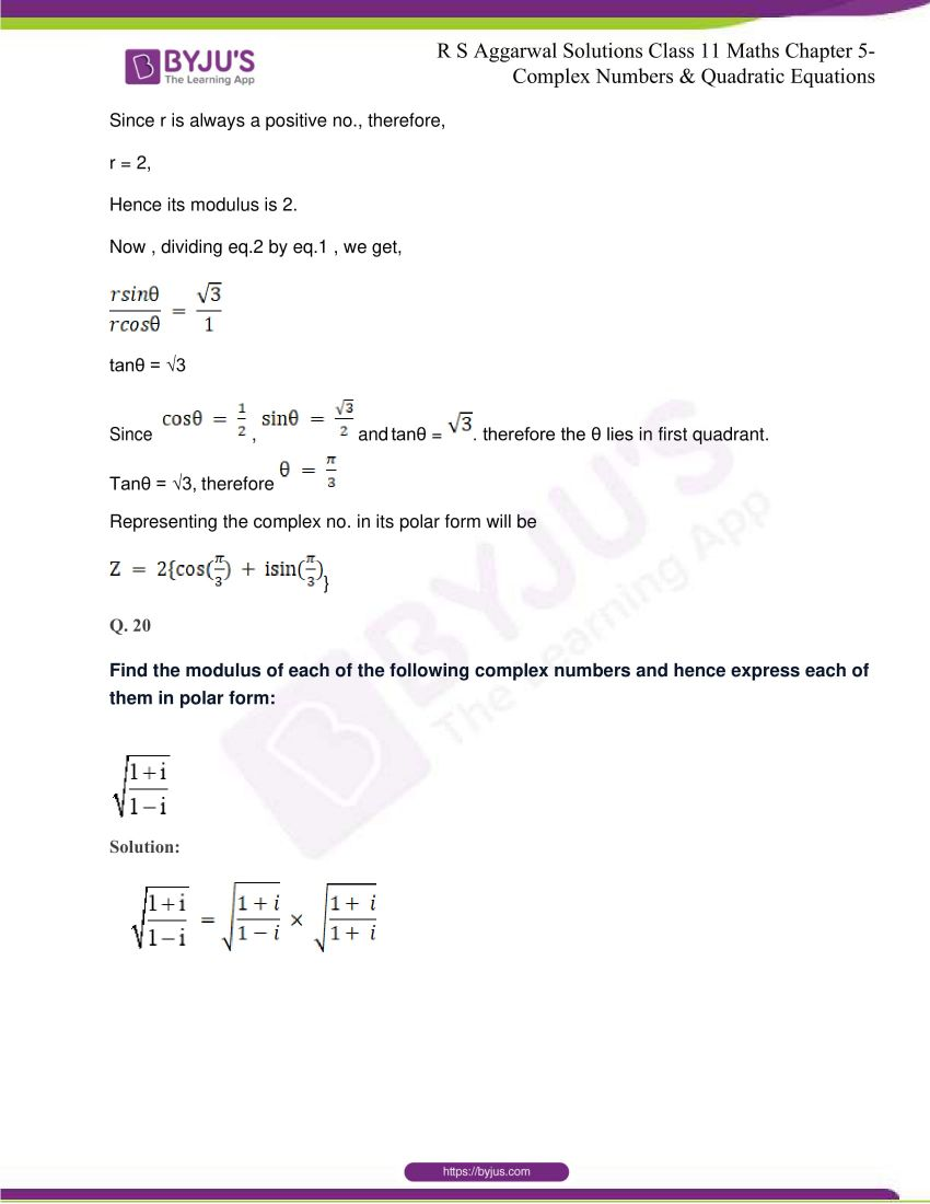 rs aggarwal class 11 maths solutions chapter 5 128