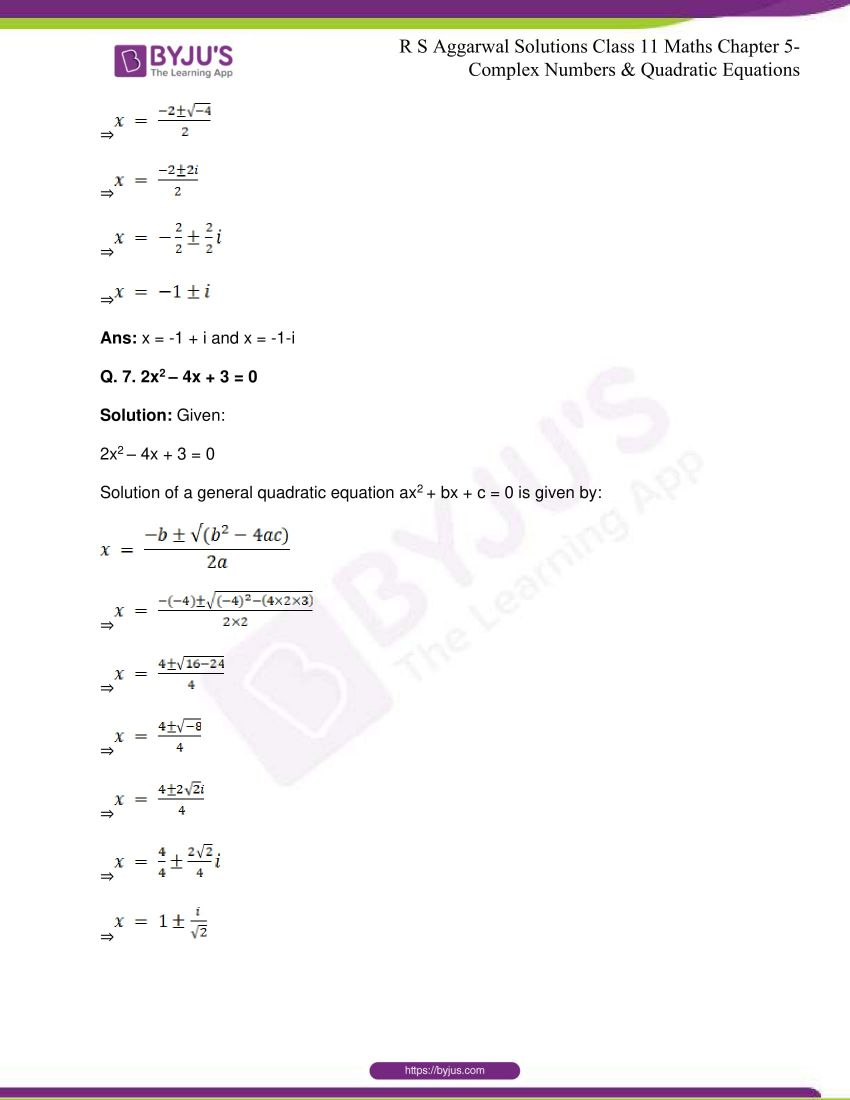 rs aggarwal class 11 maths solutions chapter 5 140