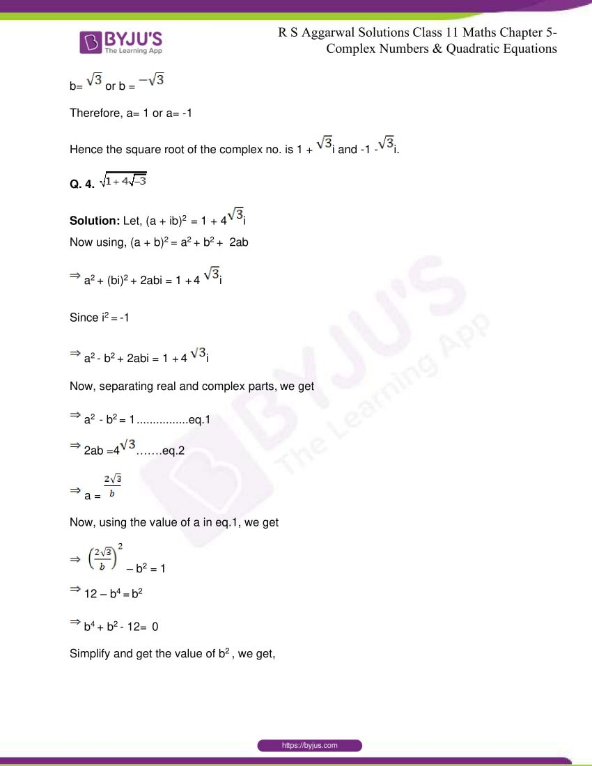 rs aggarwal class 11 maths solutions chapter 5 154