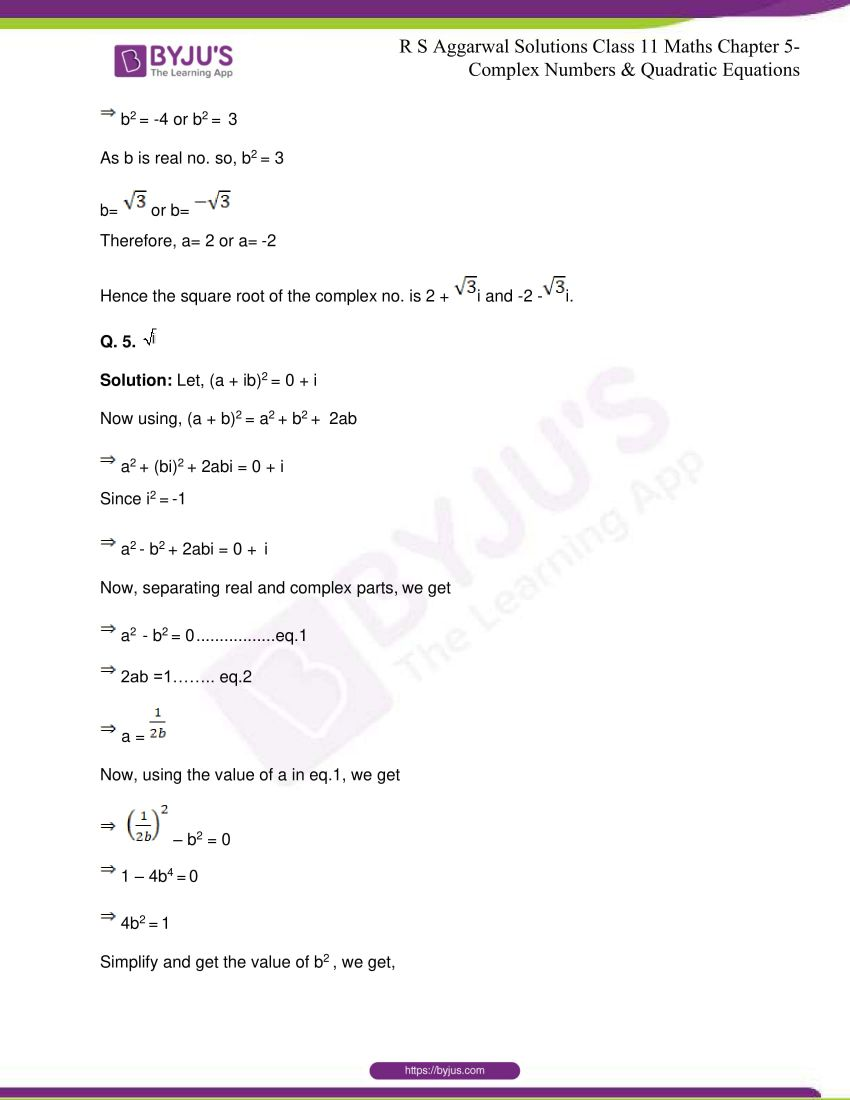 rs aggarwal class 11 maths solutions chapter 5 155