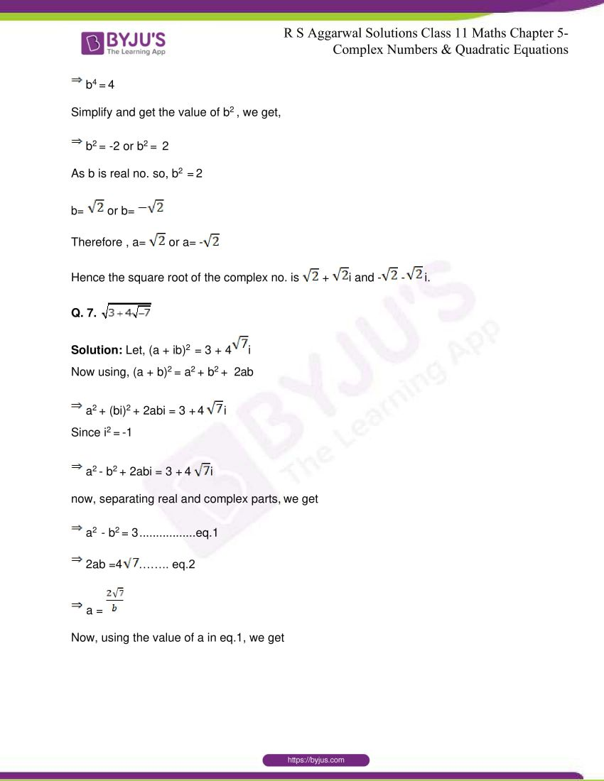 rs aggarwal class 11 maths solutions chapter 5 157
