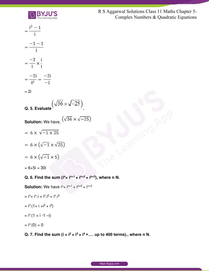 rs aggarwal class 11 maths solutions chapter 5 168
