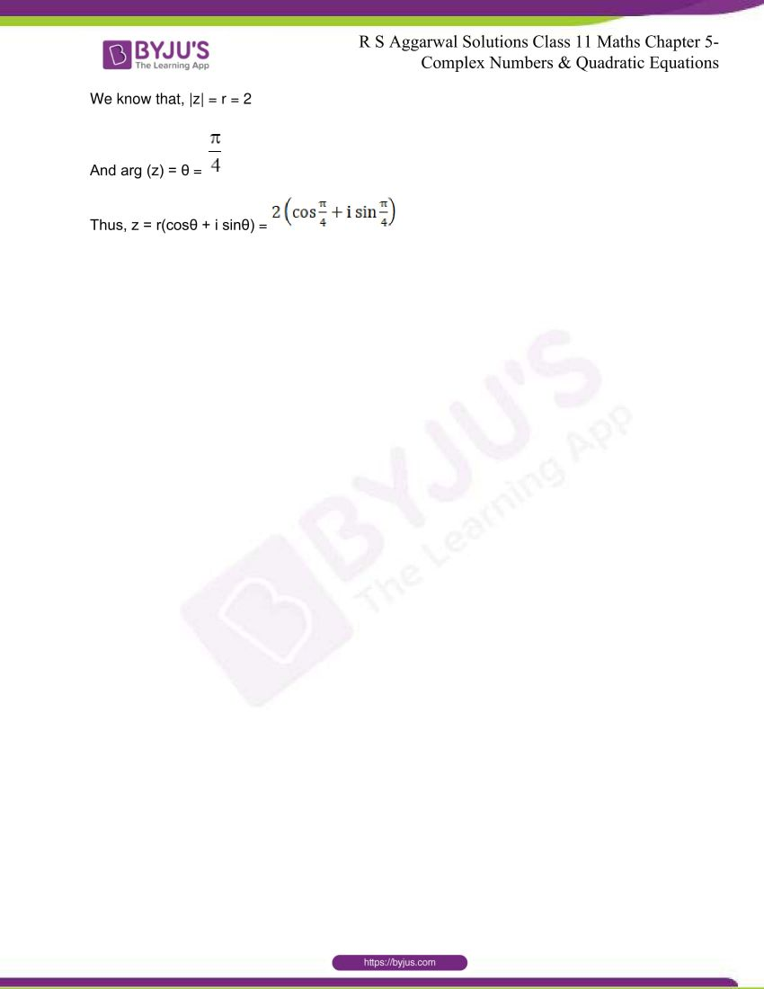 rs aggarwal class 11 maths solutions chapter 5 180