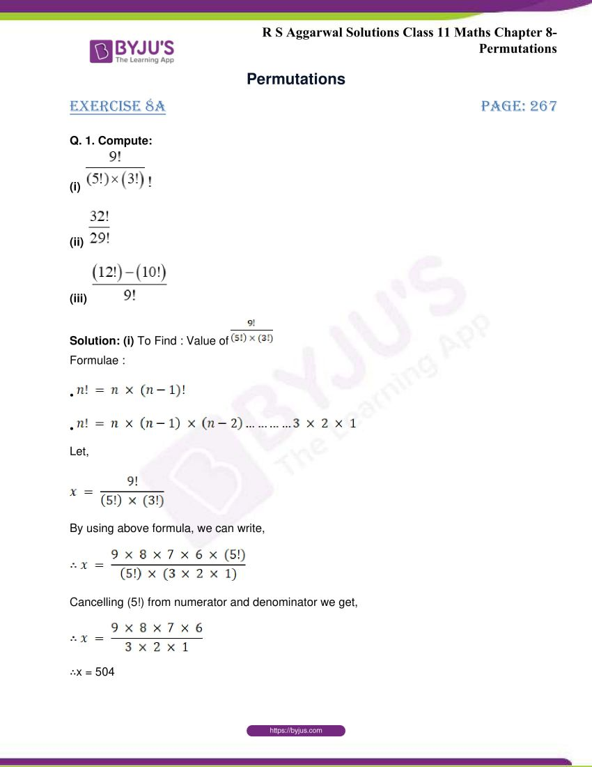 rs aggarwal class 11 maths solutions chapter 8 01