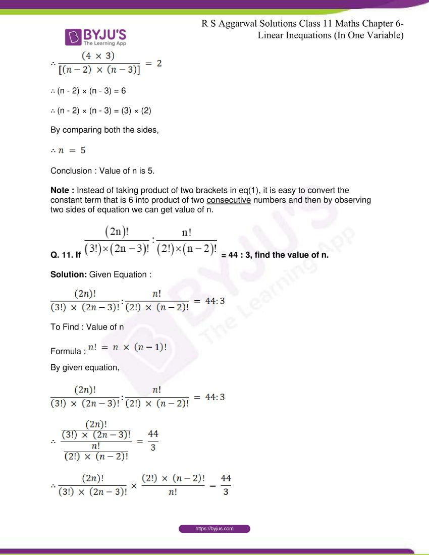 rs aggarwal class 11 maths solutions chapter 8 10