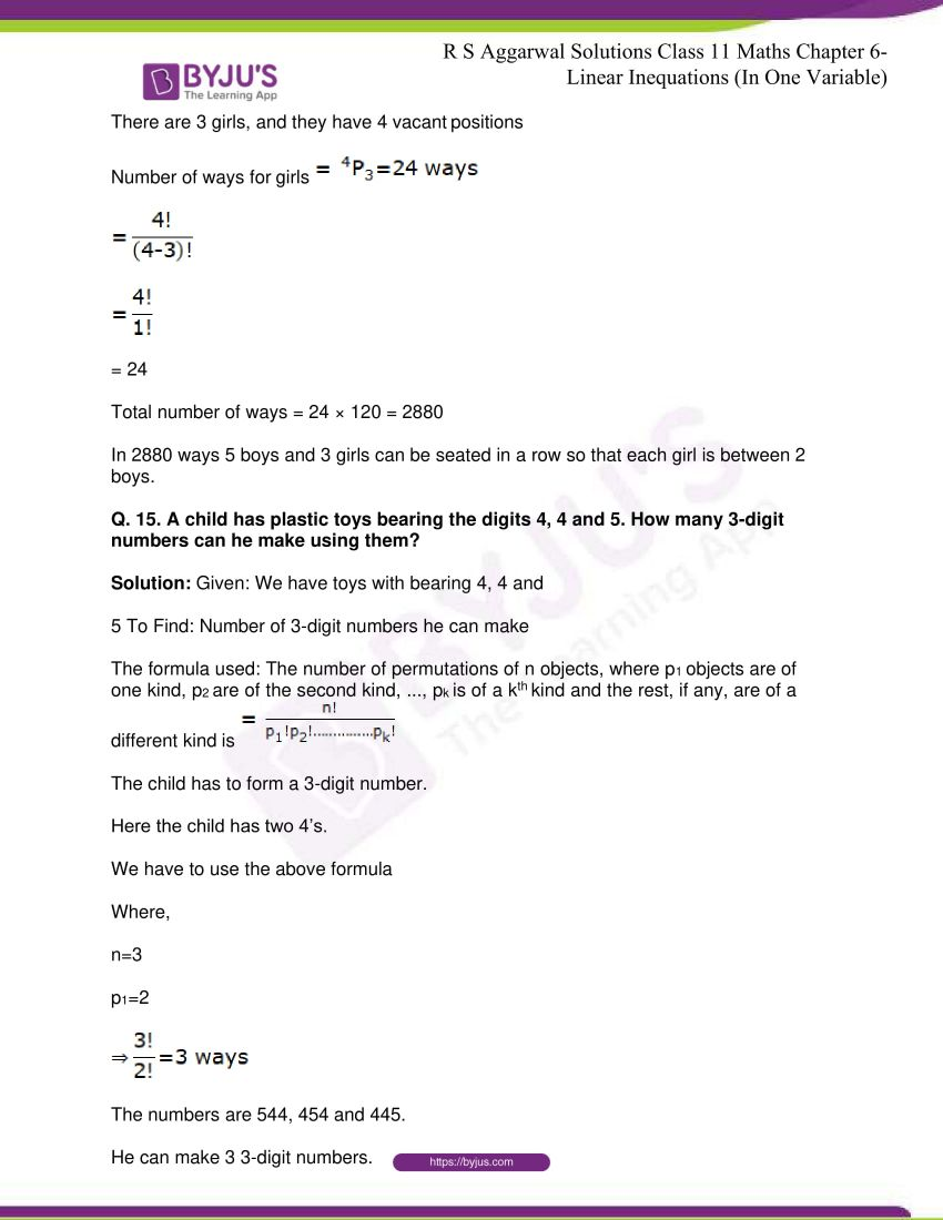 rs aggarwal class 11 maths solutions chapter 8 88