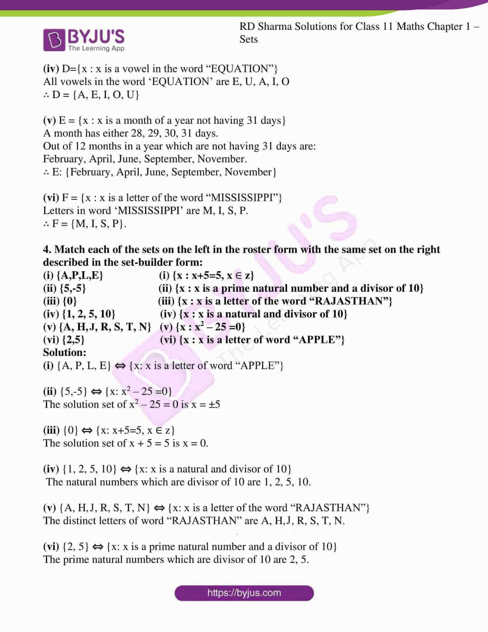 rd sharma class 11 maths ch 1 sets ex 2 5