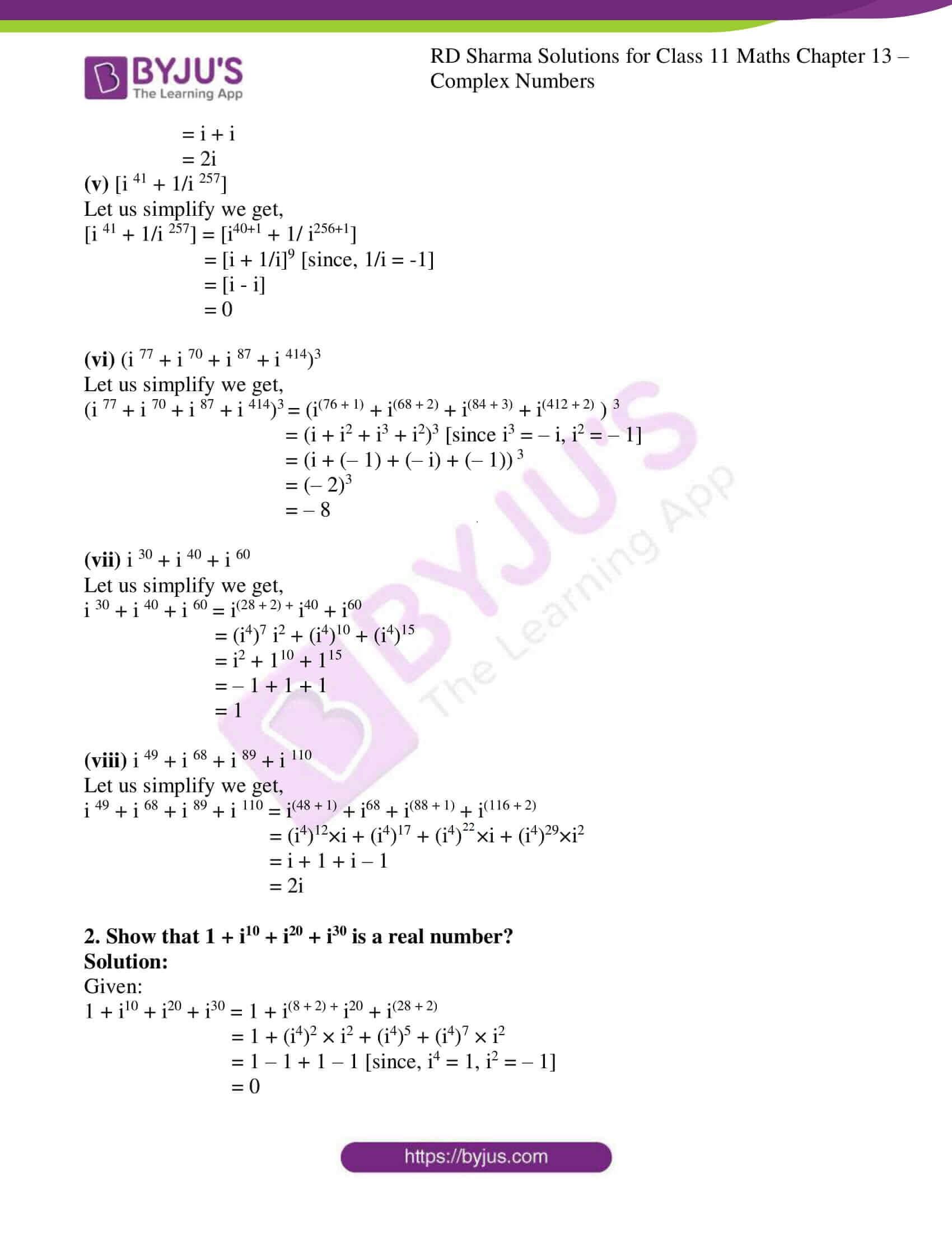 rd sharma class 11 maths ch 13 ex 1 2