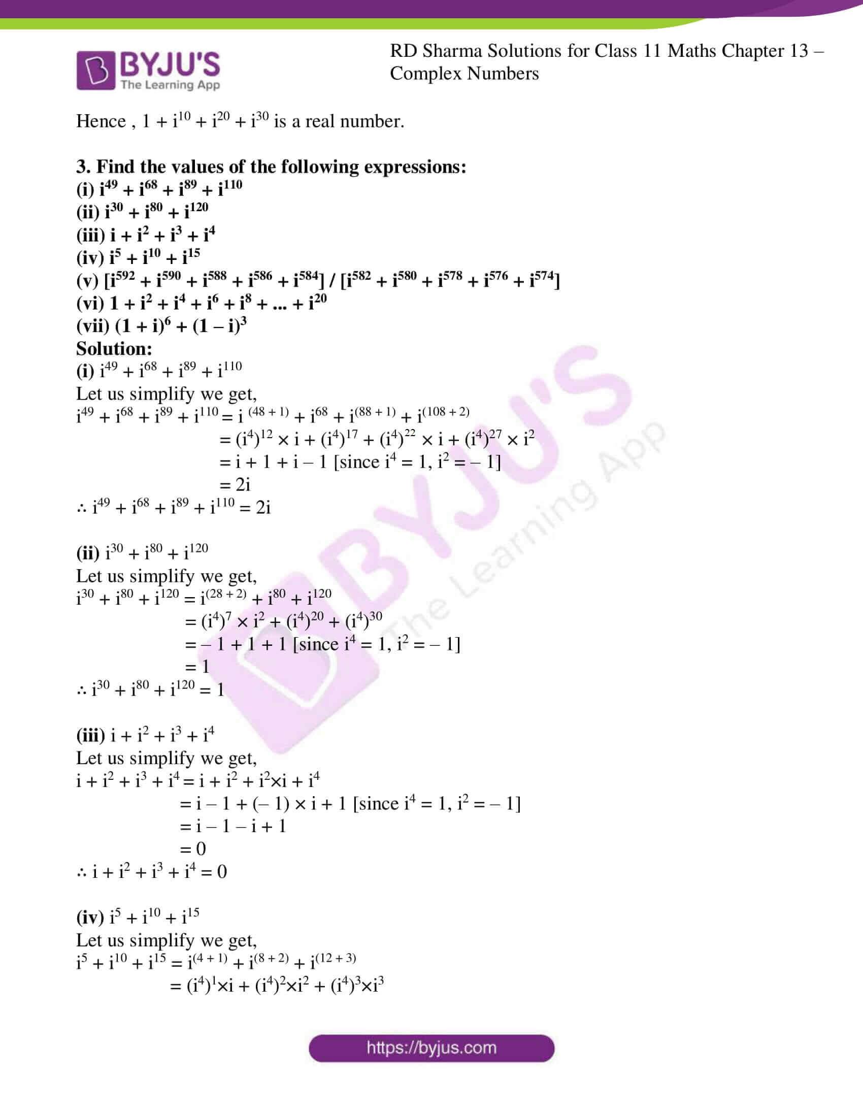 rd sharma class 11 maths ch 13 ex 1 3