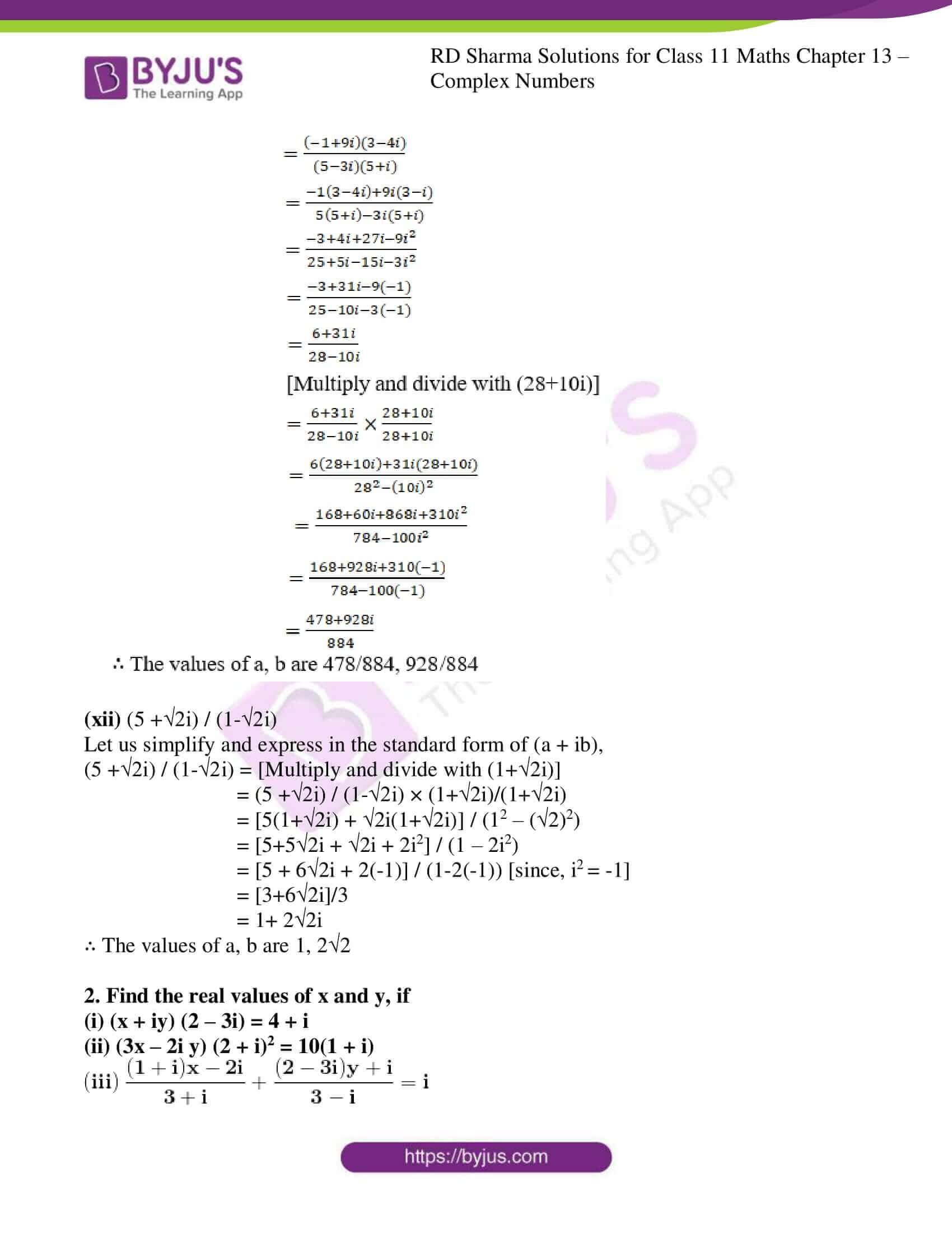 rd sharma class 11 maths ch 13 ex 2 05