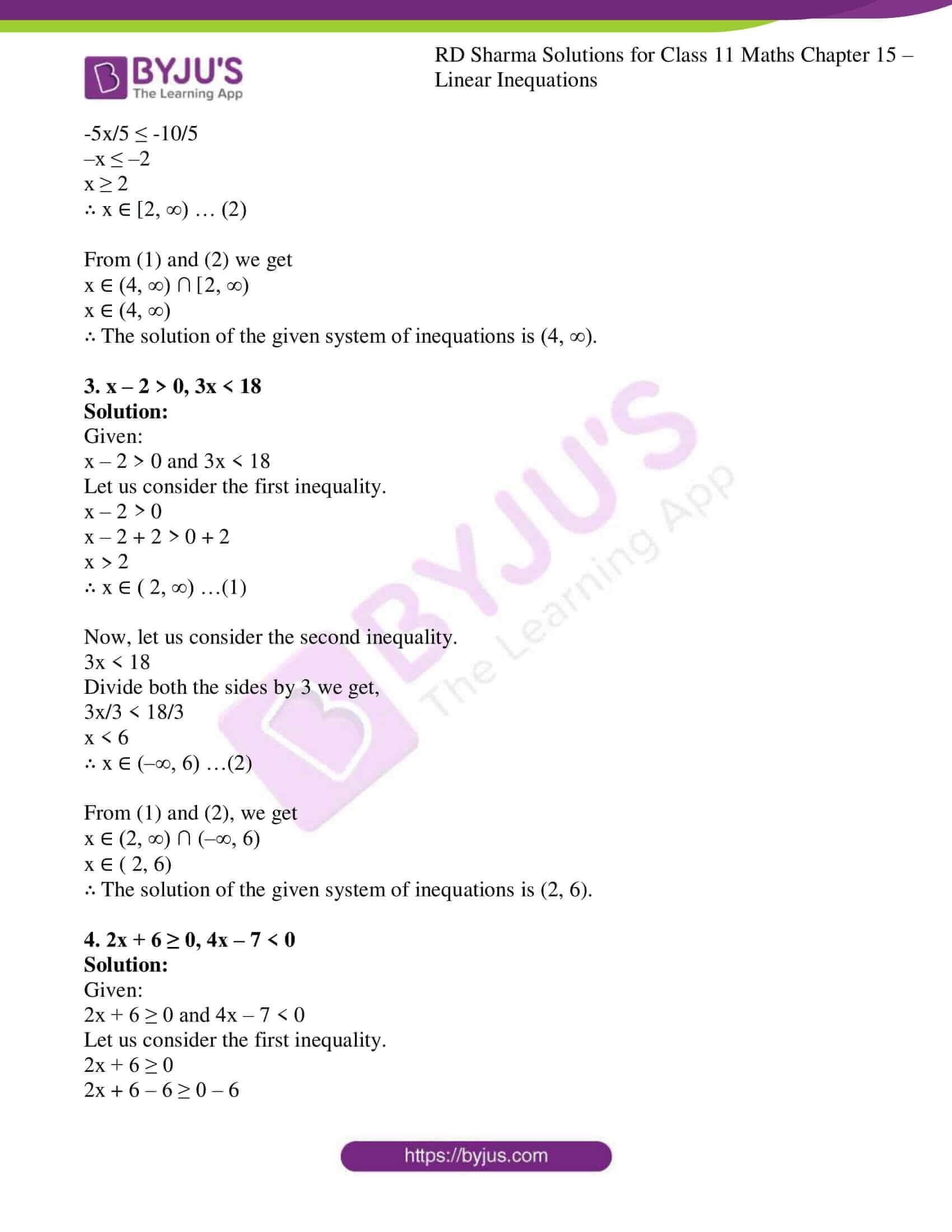 rd sharma class 11 maths ch 15 ex 2 2