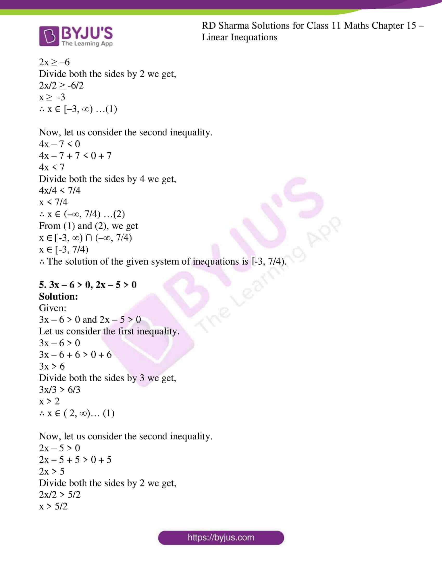 rd sharma class 11 maths ch 15 ex 2 3