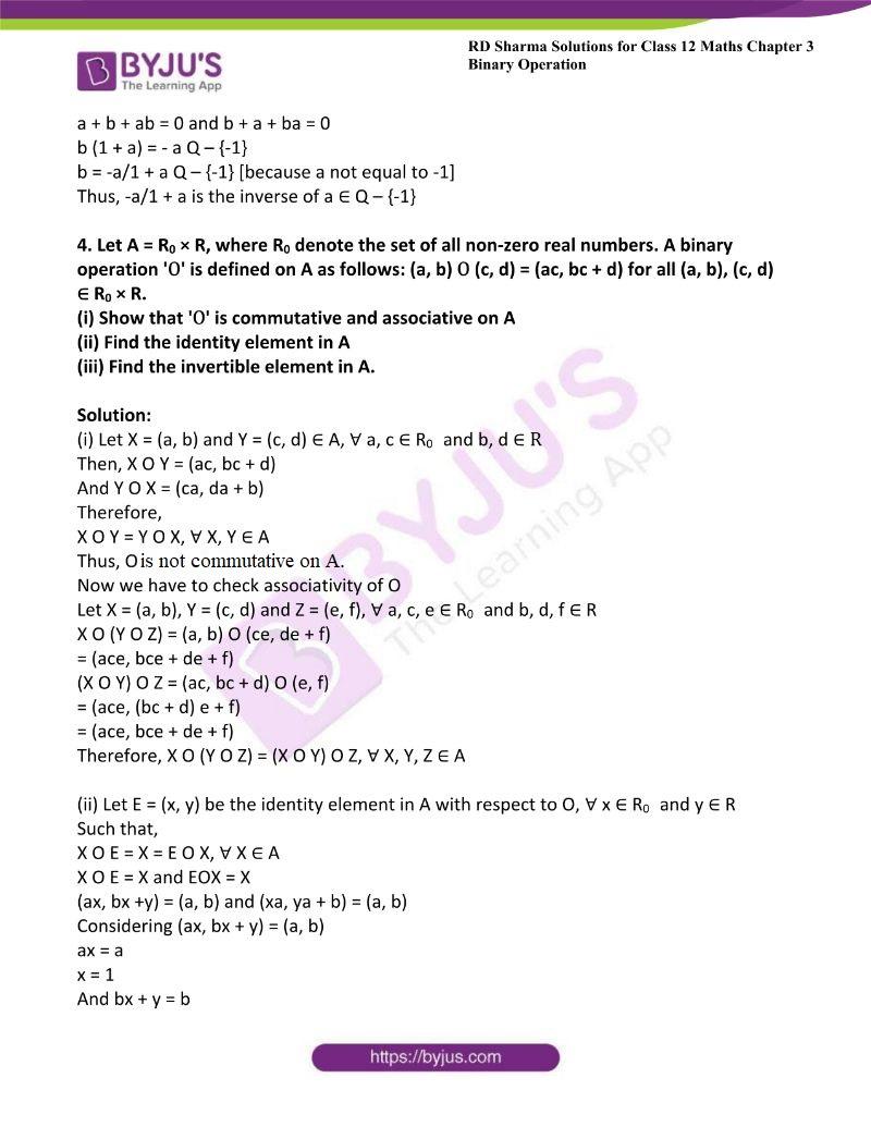 rd sharma class 12 maths chp 3 ex 4 3