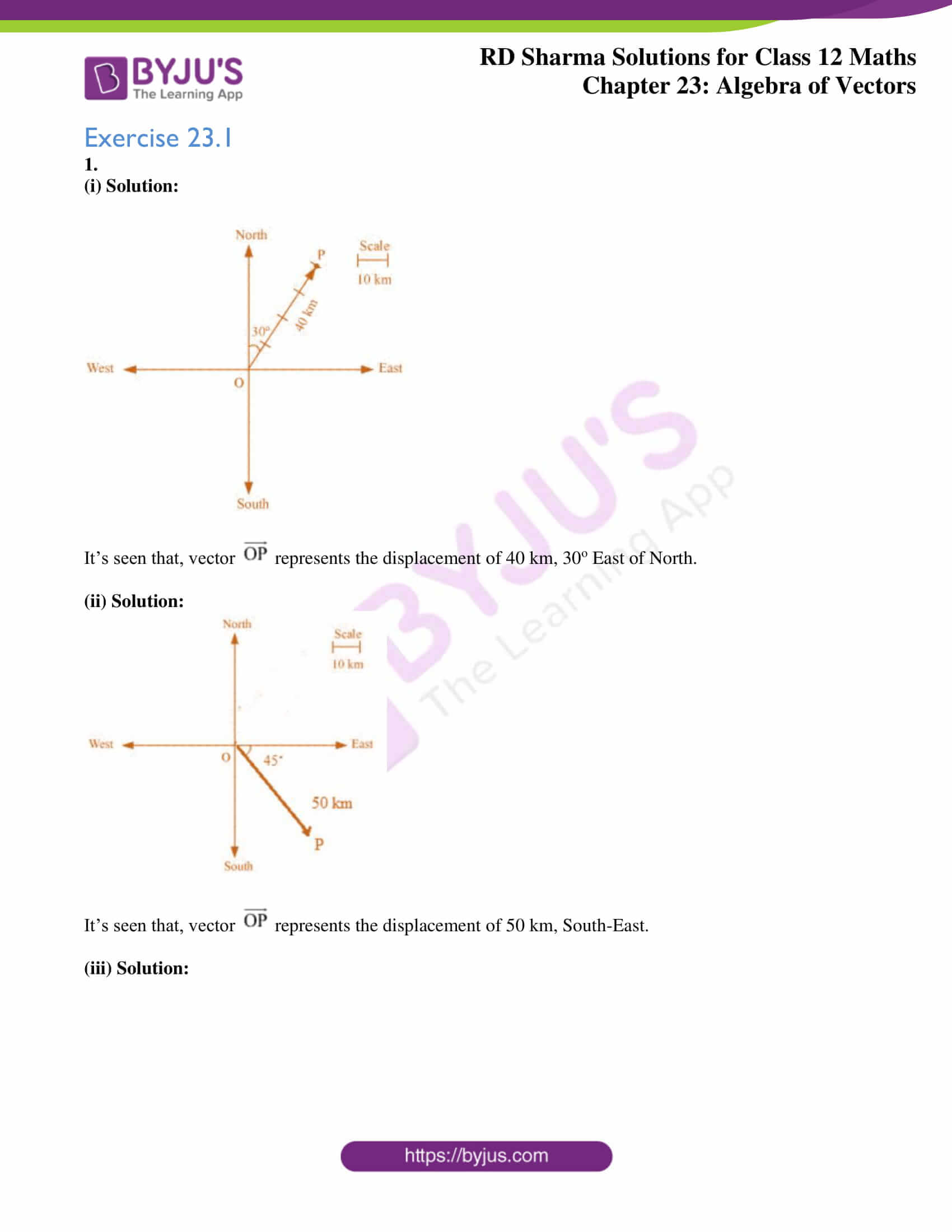 rd sharma class 12 solution for maths chapter 23 ex 1 1