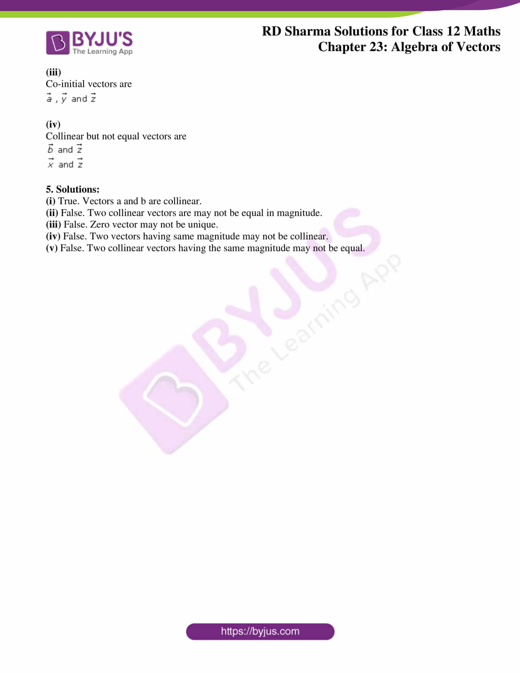 rd sharma class 12 solution for maths chapter 23 ex 1 3