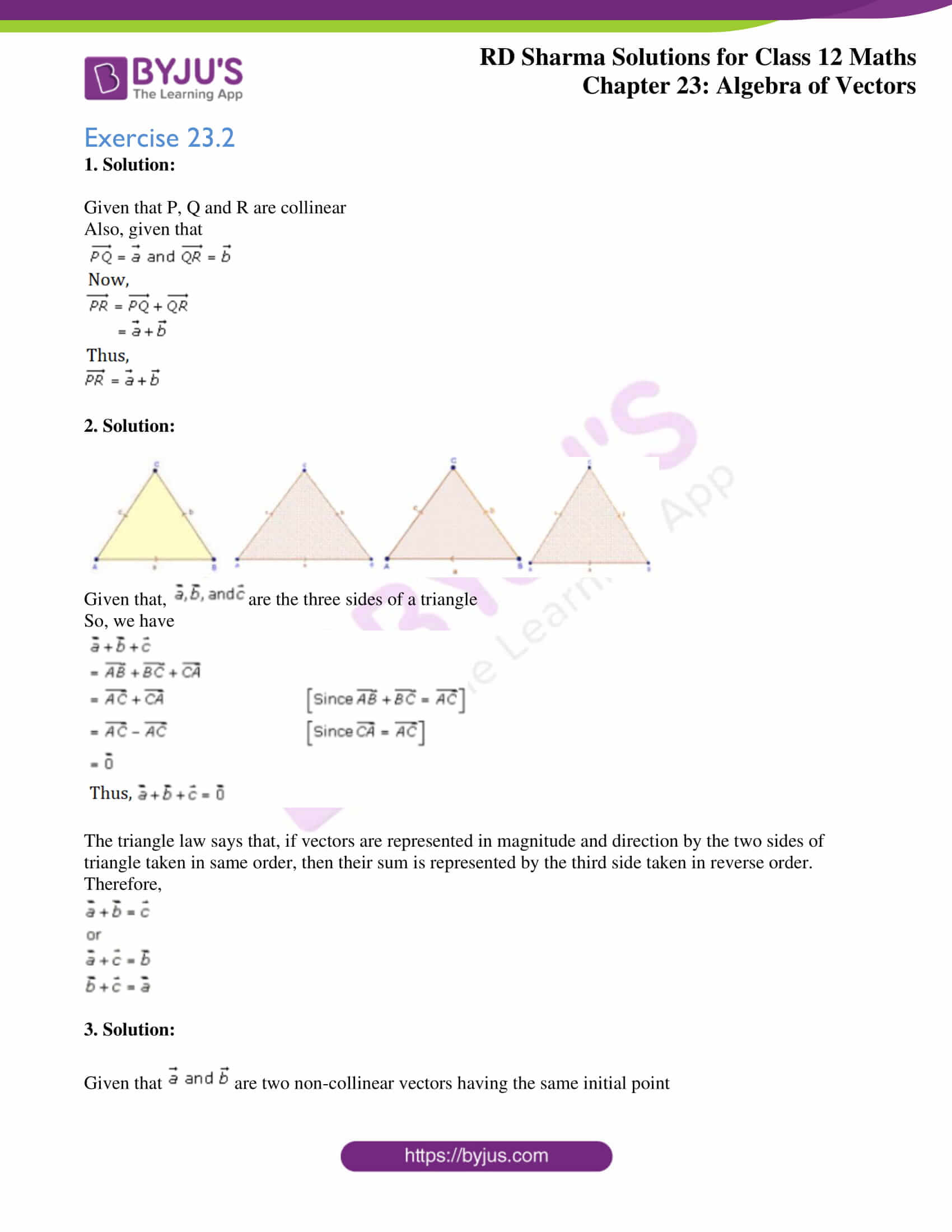 rd sharma class 12 solution for maths chapter 23 ex 2 1