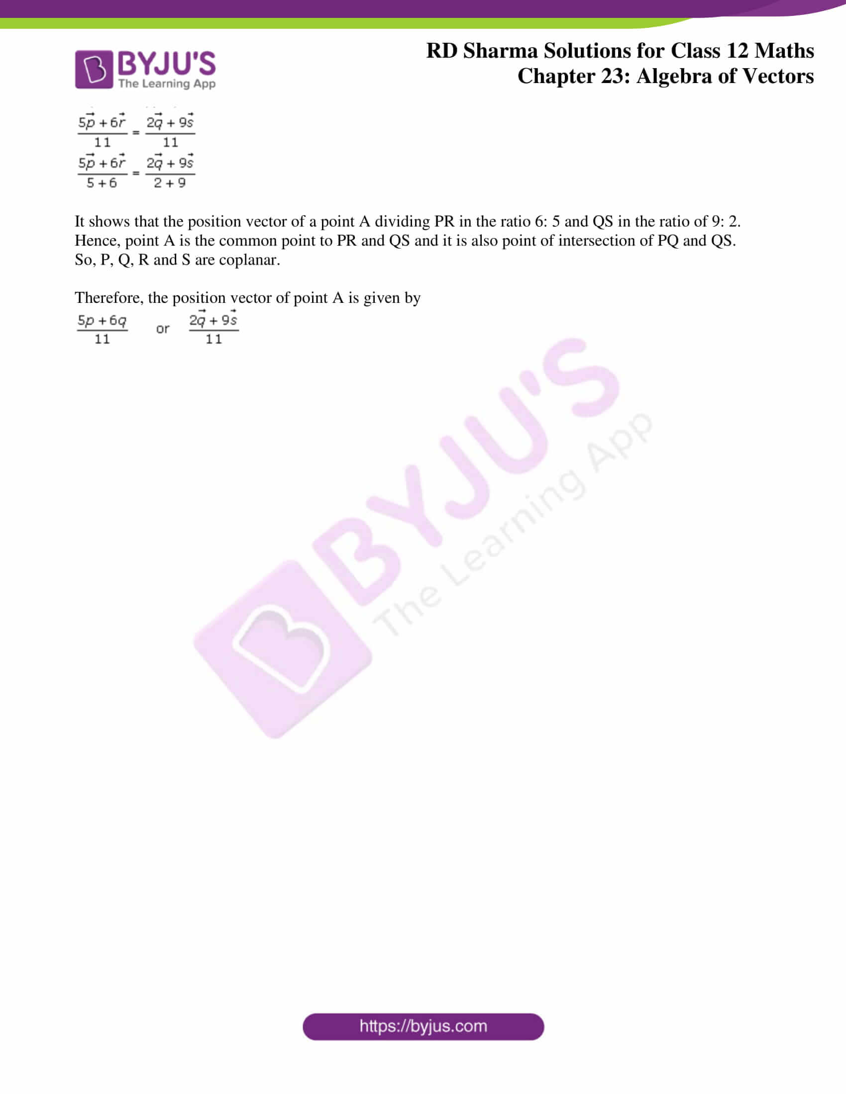 rd sharma class 12 solution for maths chapter 23 ex 3 3