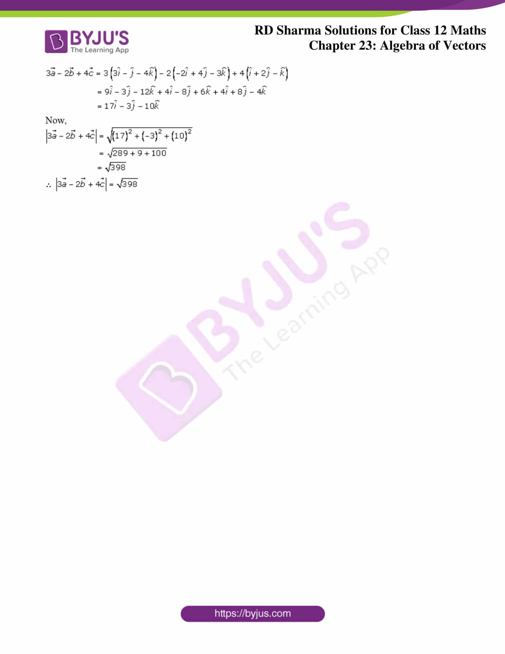 rd sharma class 12 solution for maths chapter 23 ex 6 3