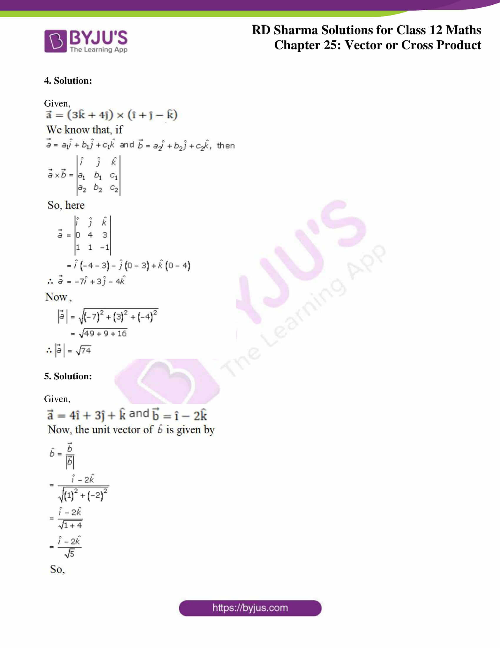 rd sharma class 12 solution for maths chapter 25 4