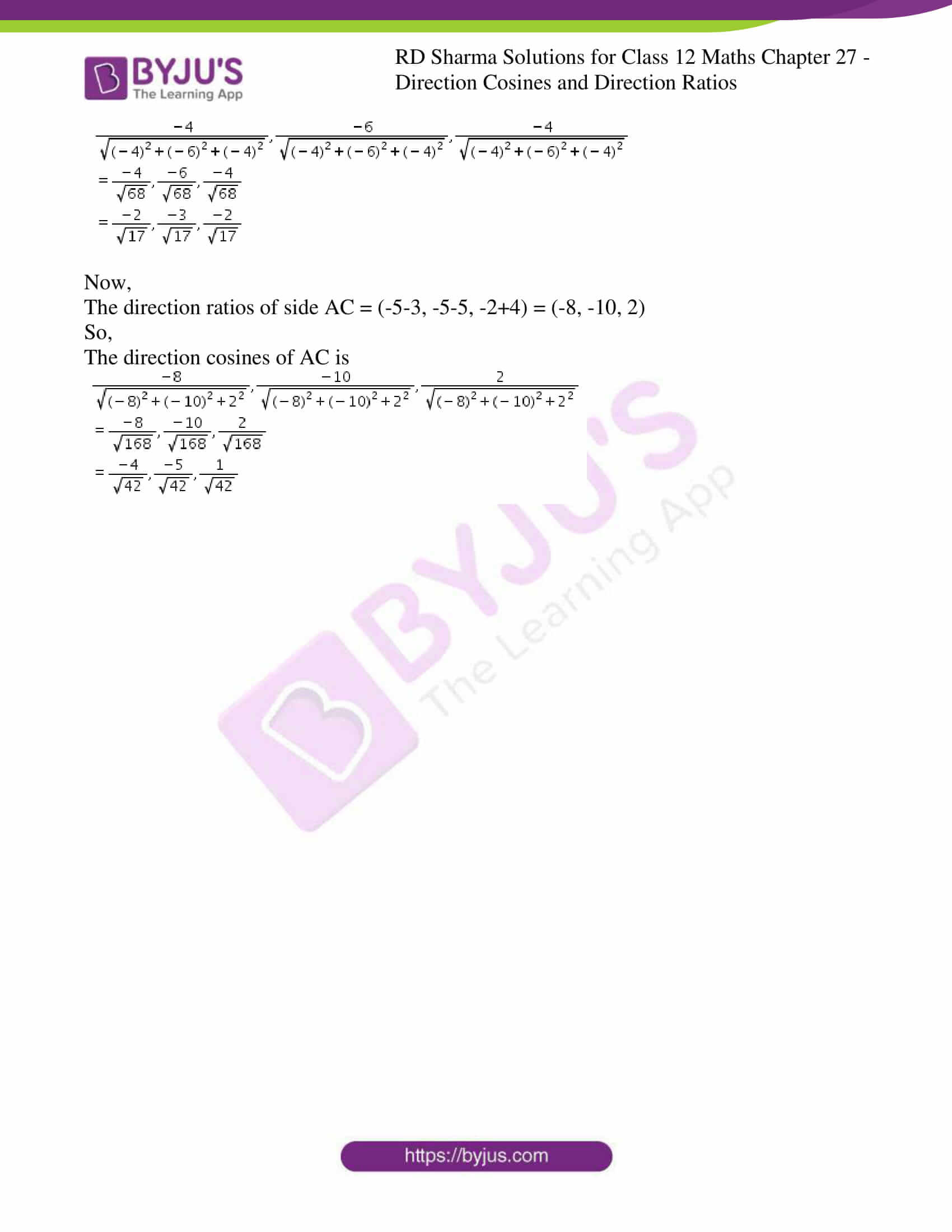 rd sharma class 12 solution for maths chapter 27 3