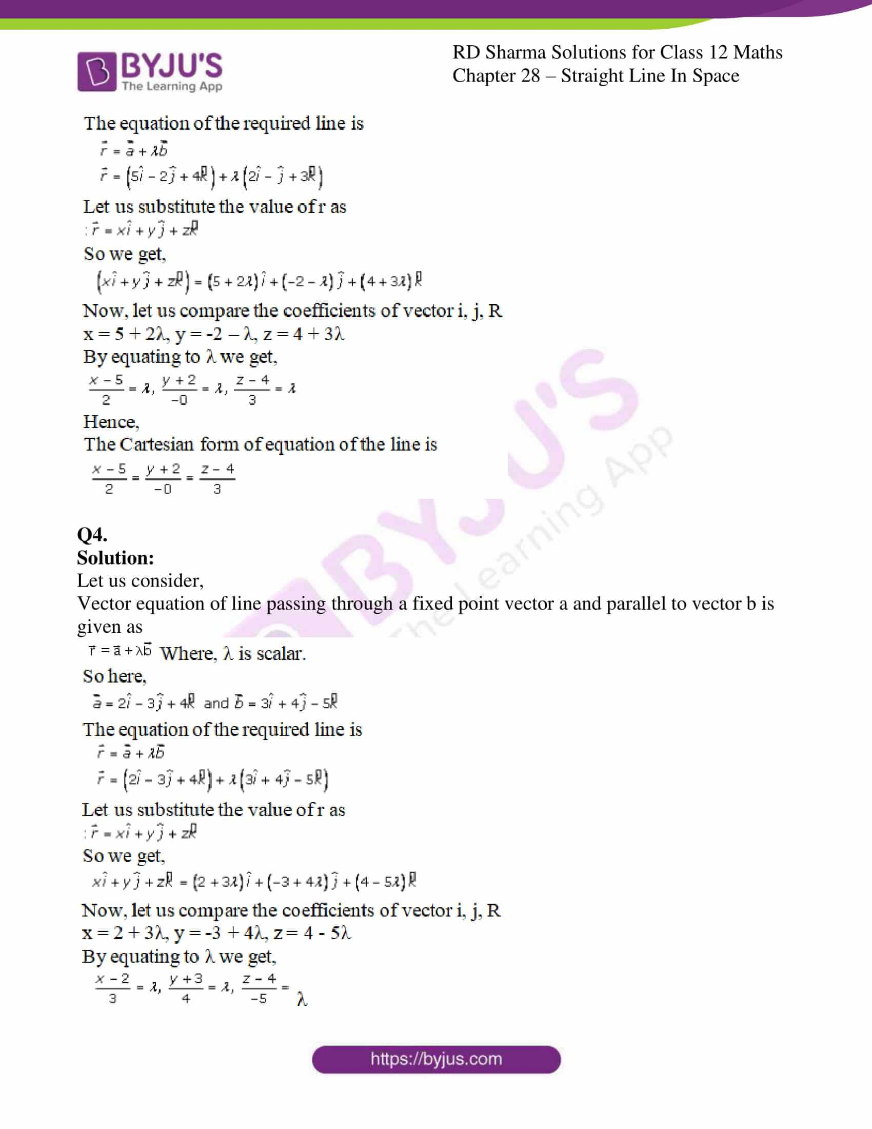 rd sharma class 12 solution for maths chapter 28 ex 1 2