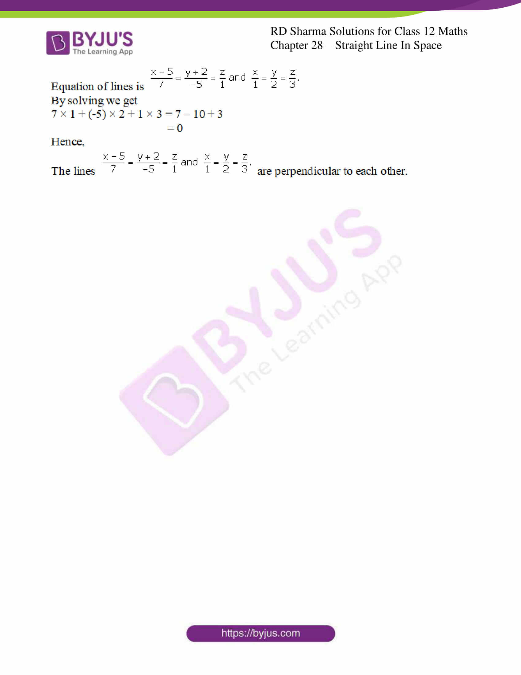 rd sharma class 12 solution for maths chapter 28 ex 2 3
