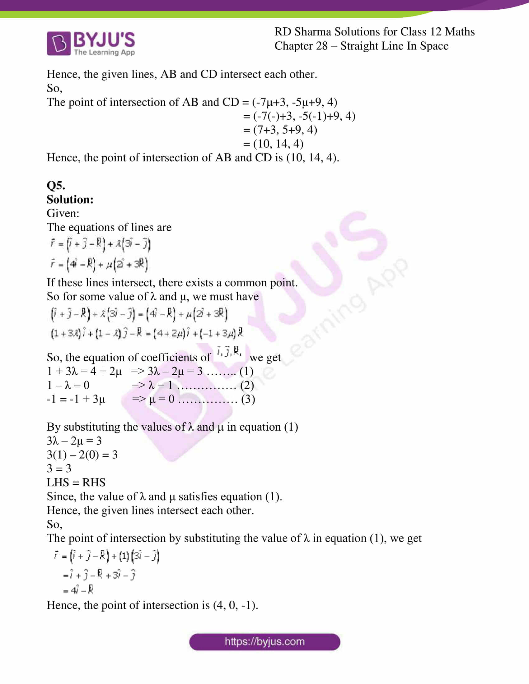 rd sharma class 12 solution for maths chapter 28 ex 3 6