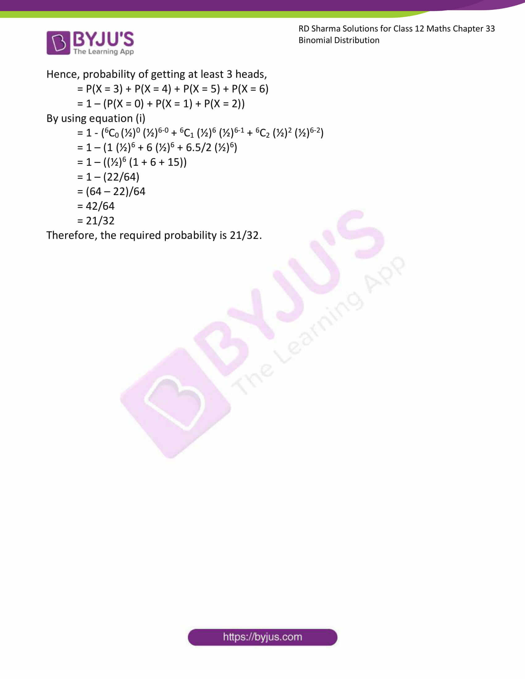 rd sharma class 12 solution for maths chapter 33 ex 1 4
