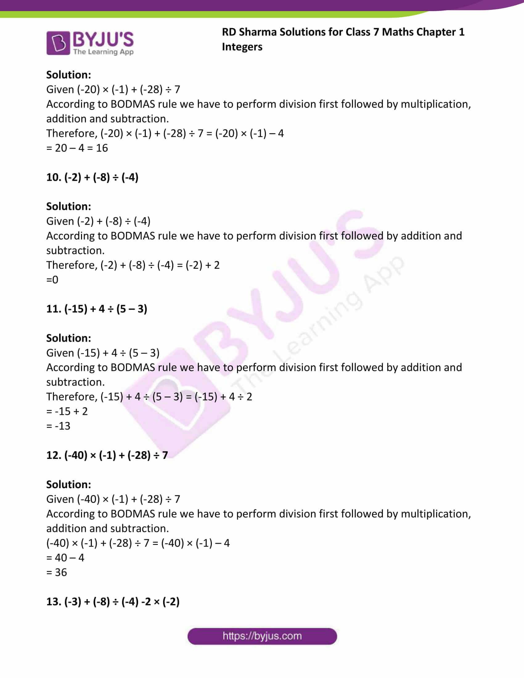 rd sharma maths class7 solution chapter 1 ex 3 3