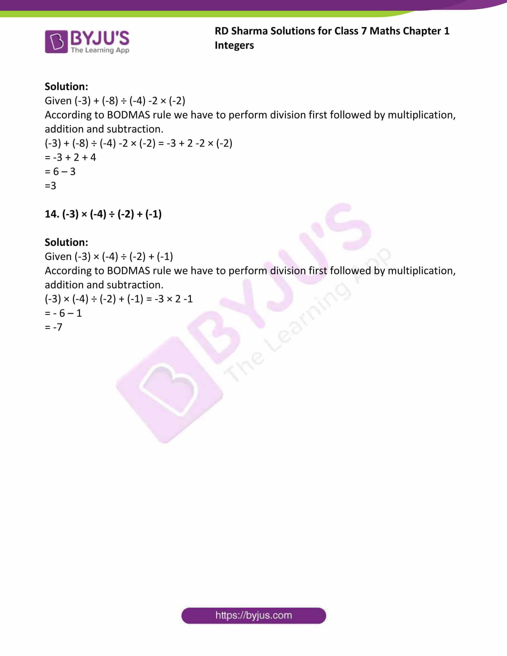 rd sharma maths class7 solution chapter 1 ex 3 4