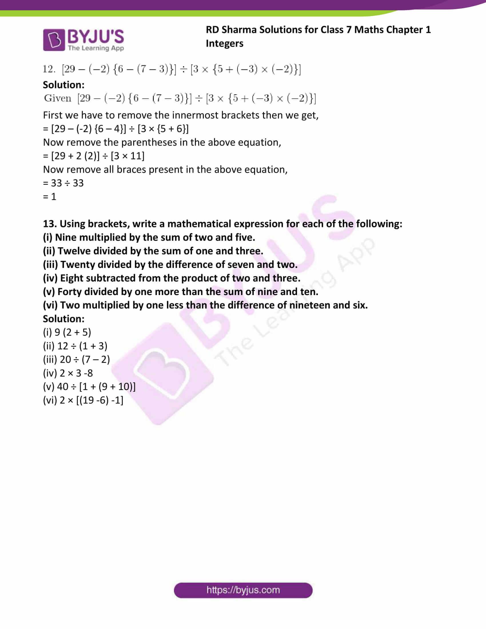 rd sharma maths class7 solution chapter 1 ex 4 5